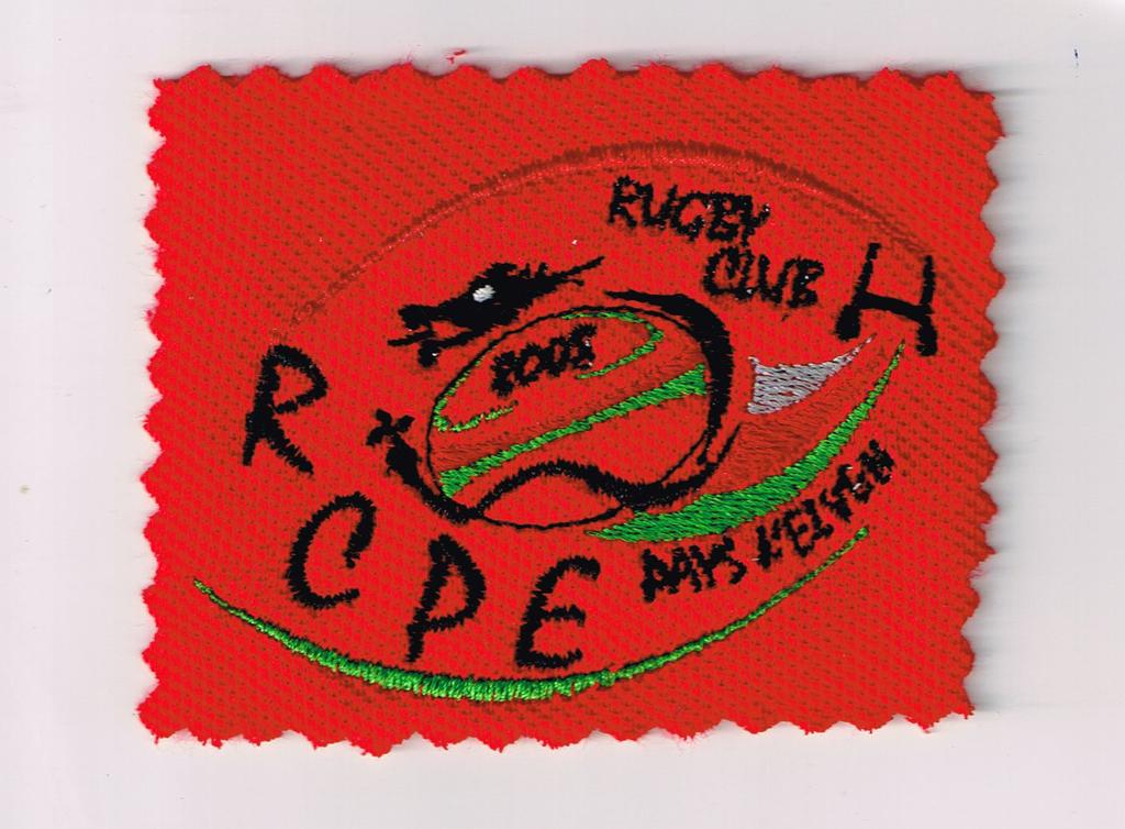 Coupe vent à capuche ROUGE MARTIO de KAPPA Rugby Club du